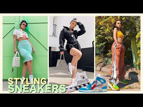 HOW TO STYLE SNEAKERS INTO STREETWEAR OUTFITS | Women Streetwear Outfits