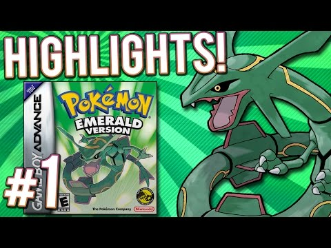 Pokemon Emerald Nuzlocke Randomizer | PART 1 | Gaming Challenge