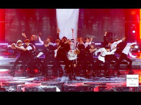 NCT 2018 엔씨티 2018 Black on Black [4K 직캠]@락뮤직