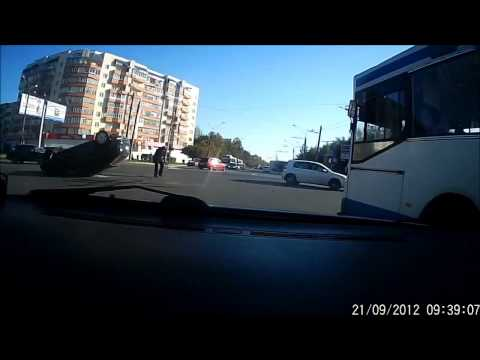 Russian Dash Cam - Wires on the road
