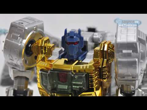 005 Transformers Masterpiece MP-8X King Grimlock - TF Source Video Review 005