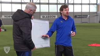 André Villas-Boas at the Scottish FA Pro Licence 2018