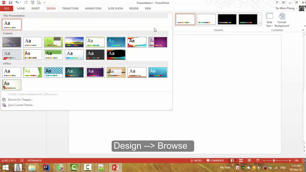how to use powerpoint template - youtube, Modern powerpoint