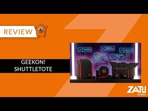 GeekOn! Shuttletote Board game Backpack Review