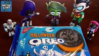 Teen Titans Go! Halloween Oreos, Kid Candy Review