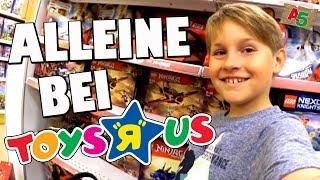 Mit 50 Euro alleine im Toys R Us 😎 Ash5ive 🙃 Spielzeug und Kinderkanal 😁