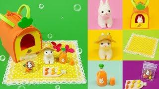 [DIY 6 Miniature for picnic rabbit ]  토끼야 소풍가자~ 6가지 미니어쳐 소풍토끼 세트 만들기!