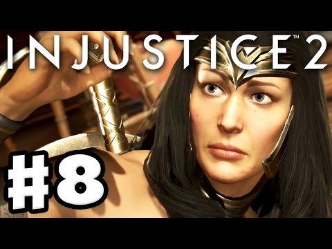 Injustice 2 - Gameplay Part 8 - Wonder Woman! Chapter 8: Goddess of War! (Story Mode Walkthrough)