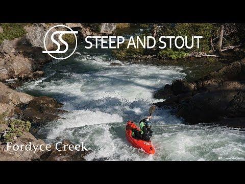 Fordyce Creek Kayaking - 300 CFS - Lake Spaulding, CA