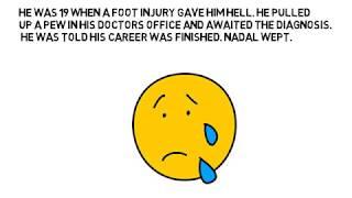 Rafael Nadal's Amazing Inspirational Success Story - Life Lessons