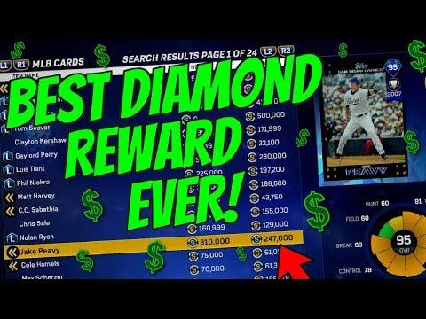 WE GOT A $310,000 DIAMOND 12 WIN REWARD! LET'S GOOOO! MLB THE SHOW 17 BATTLE ROYALE