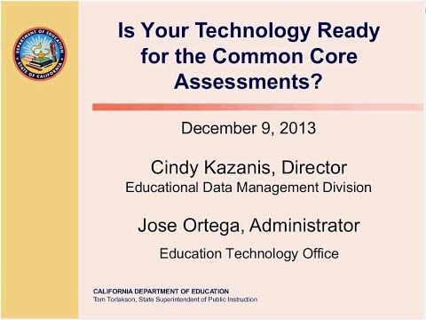 Is Your Technology Ready for the Common Core Assessments