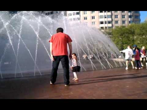 Fountains at the Christian Science Museum