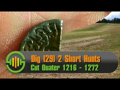 Metal Detecting UK Dig | 29 | Cut Quarter Silver 13th Century Henry III Penny + More