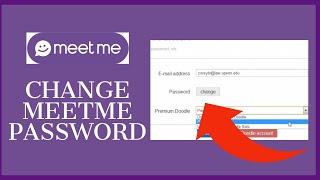 How To Change MeetMe Password? Forgot MeetMe Password screenshot 4