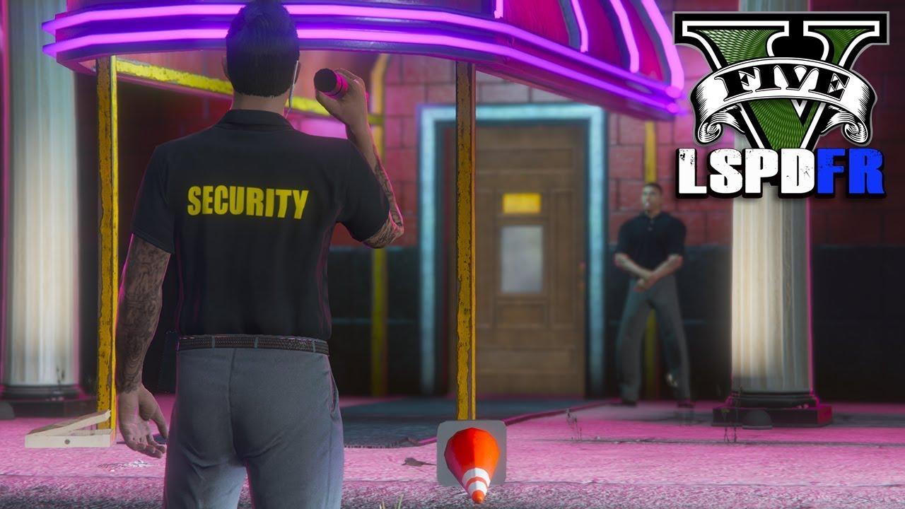 Bouncer Mod - Off Duty Cop | GTA 5 LSPDFR 0 4 3 Ep #645