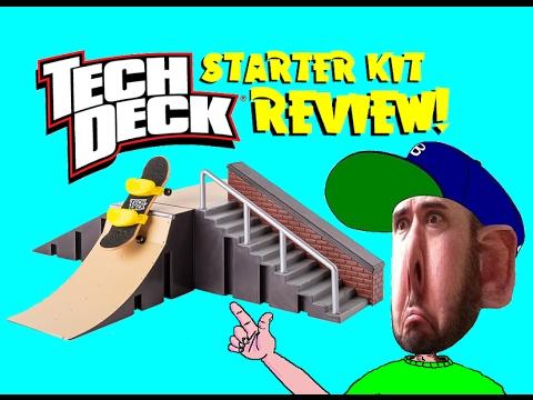 TECH DECK Starter Kit Review!! (2-5-17)
