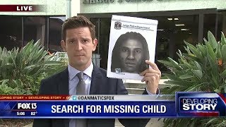 Amber Alert: Search continues for Largo boy last seen in stranger's car