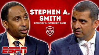Stephen A. Smith Opens Up on Career Path to ESPN