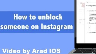 How to unblock someone on Instagram