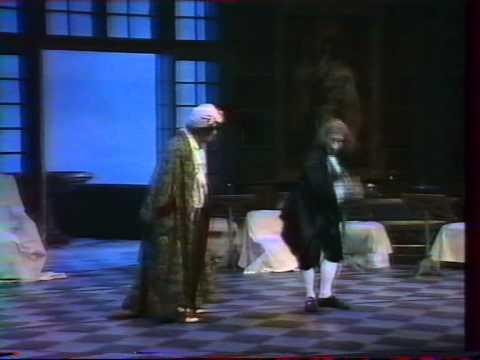 LE BOURGEOIS GENTILHOMME JEROME SAVARY 1989 Théâtre national de Chaillot