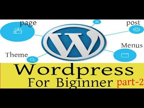Wordpress bangla tutorial for new beginner part-2- post,pages,menus,theme by gmostafa! thumbnail