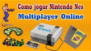 🎮 Como joga Nintendinho (NES) Multiplayer Online (Emulador Nestopia).