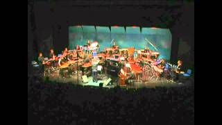 """Percussion Symphony"" - Movement I by Charles Wuorinen - Peter Jarvis, Conductor"
