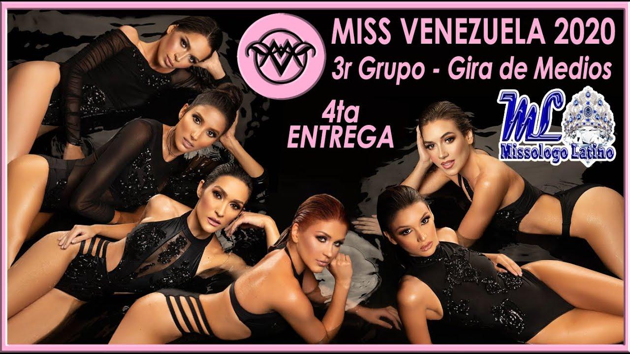 Miss Venezuela 2020 - 4ta Entrega / 3er Grupo Gira de Medios