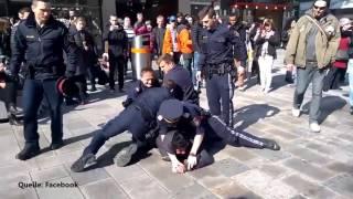 Polizei vs Bürger ! Ordnungsgemäße Festnahme