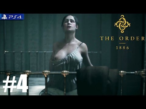 The Order: 1886 - PS4 Walkthrough / Gameplay / 1080p - PART 4 - Chapter 3 Inequalities