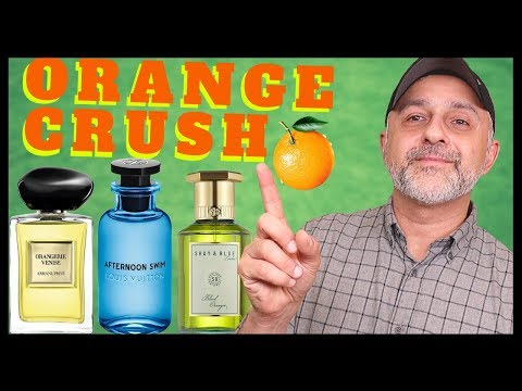 5 Awesome Orange Fragrances | Best Smelling Orange Perfumes | Louis Vuitton, Armani, Ramon Monegal++