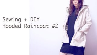 DIY Hooded Raincoat #2 / Sewing Tutorial ㅣmadebyaya