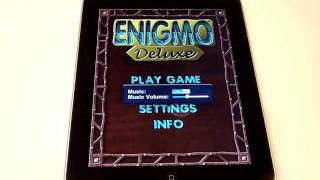 Enigmo Deluxe for iPad Review
