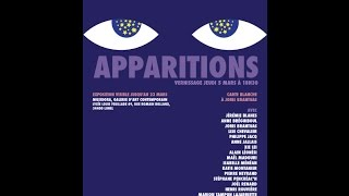 """apparitions"" - galerie Musidora - exposition collective - carte blanche à Joris Brantuas"