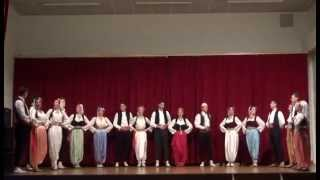 "Folklorni Ansambl ""Crna Gora"" - Gusinje® France 2014 [by Foto Video SRĐO]"