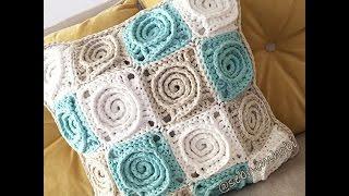 Spiral Gül Motifi Yapılışı- How To Crochet a Spiral Granny Square