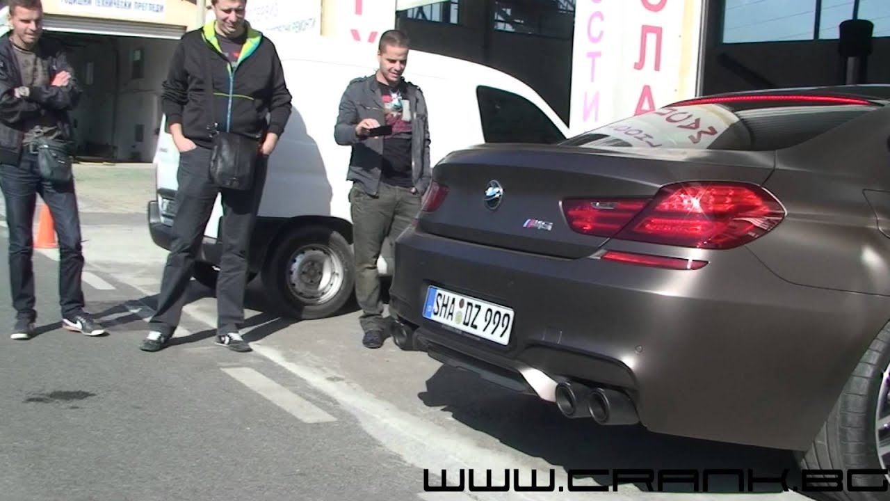 Bmw M6 Gran Coupe >> BMW M6 GranCoupe Akrapovic - YouTube