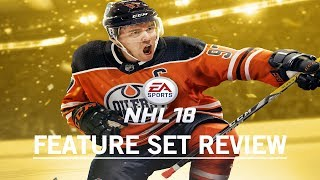 NHL 18 NEW FEATURES AND GAMEPLAY REVIEW