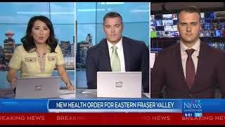 New health order for eastern Fraser Valley