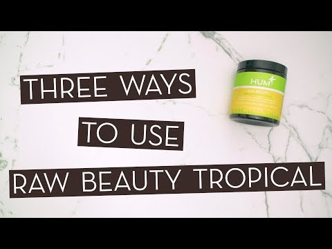 3 Ways To Use Raw Beauty Tropical Green Superfood…}