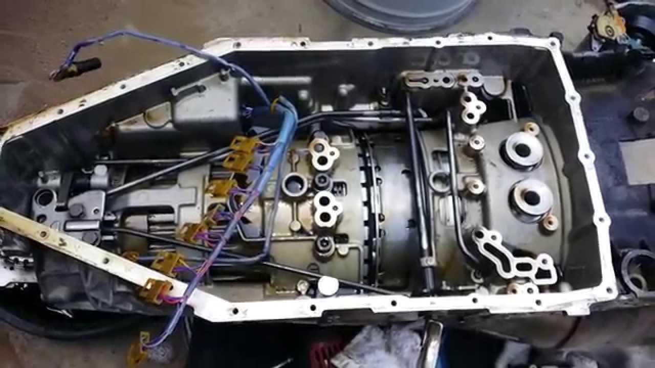 bmw 740 diy automatic transmission oil change 5hp30 part 2 youtube rh youtube com 2003 BMW 540I 2003 BMW 540I