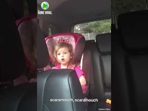 K.C. Wheeler - Cute Girl Sings Bohemian Rhapsody In Car Seat