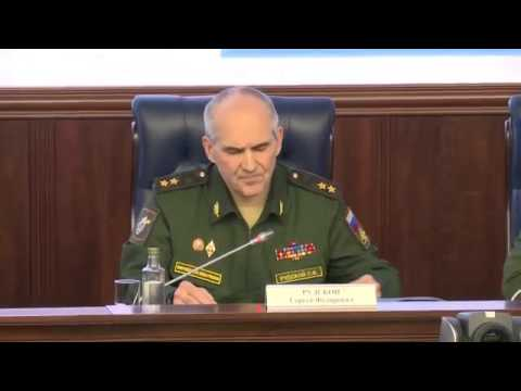 "Media briefing ""Russian Federation Armed Forces fighting against international terrorism  New data"""