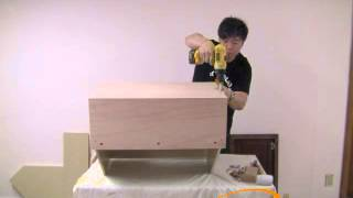 Bestonlinecabinets Universal Body Wall Diagonal Corner Cabinet Assembly Instruction