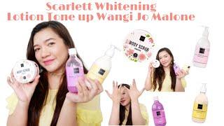 Review Scarlett Whitening Sekali Pake Lsg PUTIH, Wangi JO MALONE !