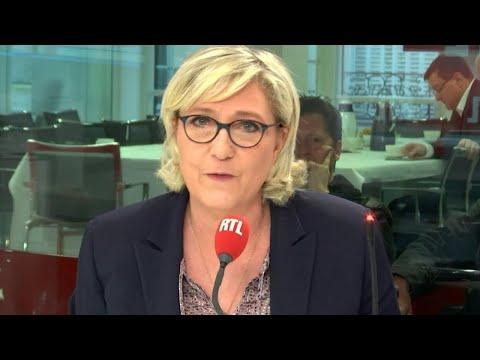 """Marine Le Pen : """"Edwy Plenel devrait être discrédité à interviewer le président de la République"""""""