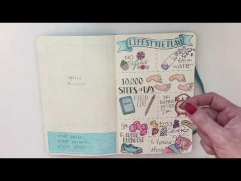 Bullet Journal - Healthy Habits
