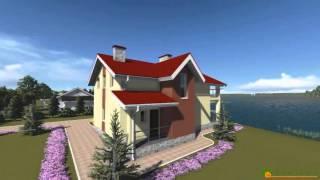Проект дома из теплоблока ТБ 42 (140 м2)