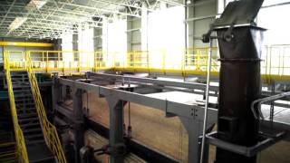 The furnace -- the heart of float glass production